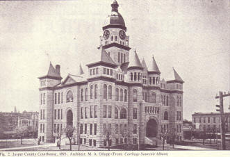 Jasper County Missouri Courthouse 1893 - Present